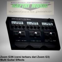 Efek Gitar Zoom G3N / Zoom G 3N / Zoom G 3 N baru 100% garansi murah