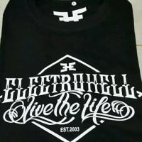 kaos electrohell/tshirt/baju/t-shirt