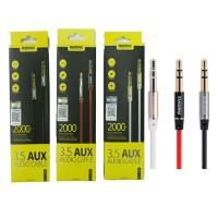 Kabel Remax Aux Audio Jack 2000 cm 2m