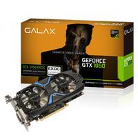 GALAX Geforce GTX 1050 2GB DDR5 EXOC (EXTREME OVERCLOCK) - Dual Fan SP