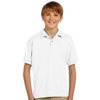 Polo Kerah Anak PUTIH - Kaos Anak - Shirt Anak Warna / POLO POLOS
