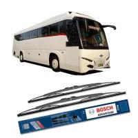 "Bosch Wiper Sepasang 28"" & 28"" untuk Bus/ Bis / Truck /Truk Advantage"