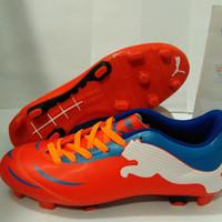 DISCOUNT Sepatu Bola (Soccer) PUMA POWERCAT Red Blue TERMURAH
