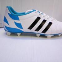 PROMO Sepatu bola adidas 11 pro putih kombiniasi biru list hitam TERL