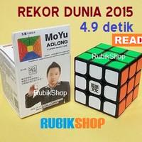 SPECIAL Rubik 3x3 : Moyu Aolong V2 3x3x3 WORLD RECORD / REKOR DUNIA NE