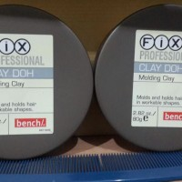 [ HAIR WAX / POMADE ] Fix Professional CLAY DOH 80gram ORIGINAL 100%