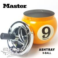 Asbak Bola-9 - Billiard Ashtray 9-ball - Hadiah Biliar Bilyar Kado