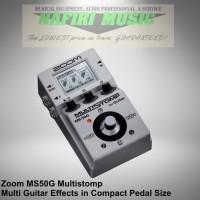 Efek Gitar Zoom MS50G / MS-50G / MS 50 G multistomp baru 100% original
