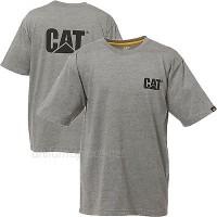 t shirt kaos caterpillar grey