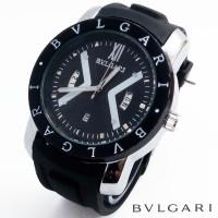 Jam Tangan Pria Cowok BVLGARI BVGA02 Murah Meriah (Black) 74rb DA
