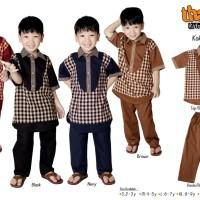 Koko Raqa by Thaluna Kids / Stelan Celana + baju anak