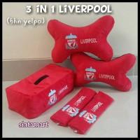 Bantal Mobil 3 in 1 Liverpool