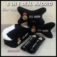 Bantal Mobil 3 in 1 Real Madrid