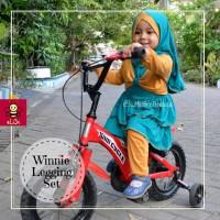 gamis | busana muslim  | baju muslim anak 1 2 3 4 5 6 tahun| cash back