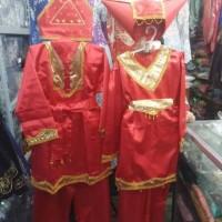 Baju Adat Padang Anak Laki Laki Ukuran XL (SD-SMP)