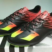 Adidas Messi 2016 Black - IC [Sepatu Futsal] [Replika Import]