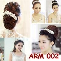 Aksesoris Rambut Pesta wedding / Hiasan Sanggul Pengantin - ARM 002