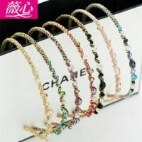 Bando korea exquisite fashion handmade irregular CZ diamond