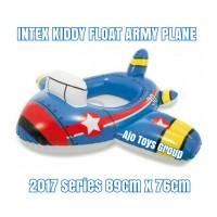 ban renang anak pesawat intex kiddy float army plane