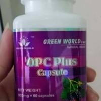obat jerawat green world opc plus