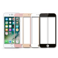 Tempered Glass Full 3D Iphone 7+ 7 Plus Anti Gores Kaca Curved Warna