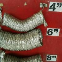 Selang Flexibel almunium foil Hose Flexibel 4 X 10meter Ducting Hose
