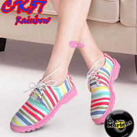 Flat Shoes Docmart (CK57 Rainbow)