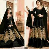baju india miss ishita black baju muslim sari india baj Murah