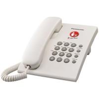 Telepon Meja Kantor / Telpon Kabel Rumah Panasonic KX-TS505 - Putih
