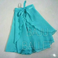 Rok ballet sifon / chiffon skirt tali dewasa