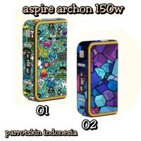 Garskin vape vapor mod aspire archon 150w bisa custom