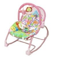 Bouncher - Kursi Bayi Pliko Rocking Chair Hammock 3 Phases - Butterfly