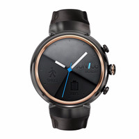 Asus Zenwatch 3 Silver with Beige Leather Band WI503Q - Smart Watch