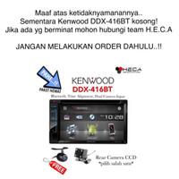 Paket Audio Mobil Kenwood DDX-416BT DDX416BT 416 BT + Kamera Mundur