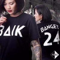 Tshirt / Kaos / Baju Younglex Yogs Baik Banget - HomeCLothing