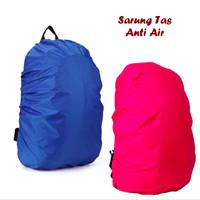 Sarung Tas sekolah besar kecil Anti Air cover cloth bag organizer