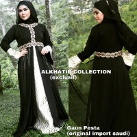 Gaun Pesta Original Import Saudi Abaya