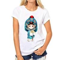 Kaos Printing Baju Adat China