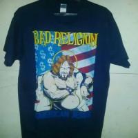 kaos band Bad Religion tag gildan premium