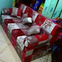 Sofa bed inoac 3 in 1 garansi 10 tahun uk.200x180x20