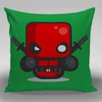 Bantal Sofa / dekorasi Super Hero - Deadpool Minimal