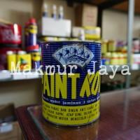Paint Kote 1L Anti Karat Cap Kampak Biru Flinkote Flintkote Mobil Besi