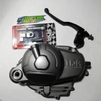 Blok Bak Kopling Set X1 Jupiter Z Burhan Vega R New Crypton TDR Racing