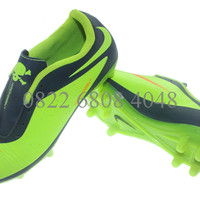 Sepatu Bola,Futsal,Adidas,Puma,Nike Hypervenom Bola Anak BiruTua Hijau