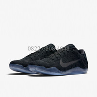 Sepatu Basket Nike Kobe XI Elite Black Space Original 822675-001