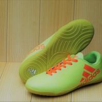 Sepatu futsal anak Adidas Techfit X Hijau stabilo