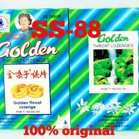 Golden Throat Lozenge (Permen Pelega Tenggorokan)