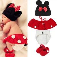 newborn baby photo costume/ kostum bayi /photo booth minnie mouse
