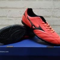 Sepatu Futsal Mizuno Monarcida Orange Black P1GF 172361 Original