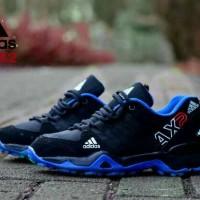 sepatu adidas ax2 pria blue black